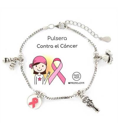 Pulsera promojoya Contra el cancer