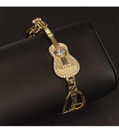 Pulsera Guitarra Oro