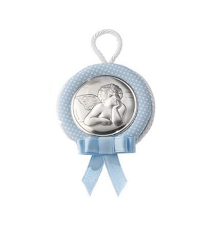 Medallon Cuna Rafael Celeste