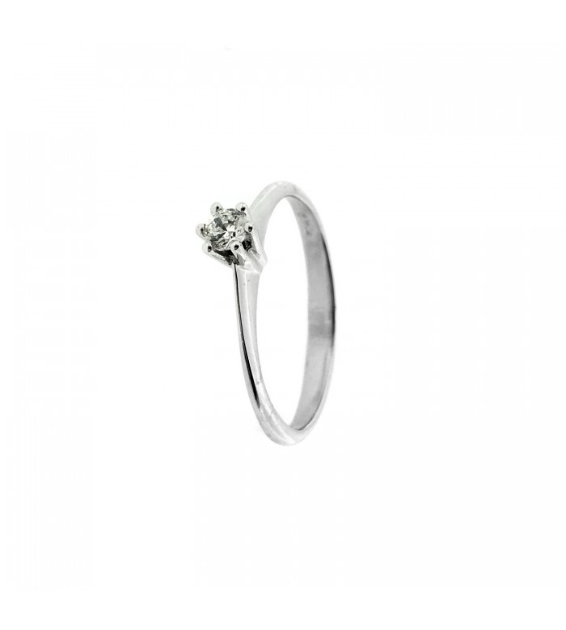 Sortija Diamante 0,11 Klt.