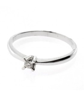 Solitario Diamante 0,05ct