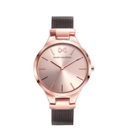 Reloj Acero Rosa Brazalete