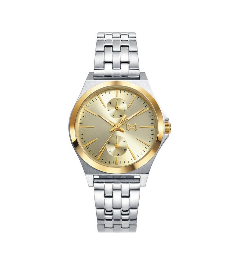 Reloj Multifuncion Dorado