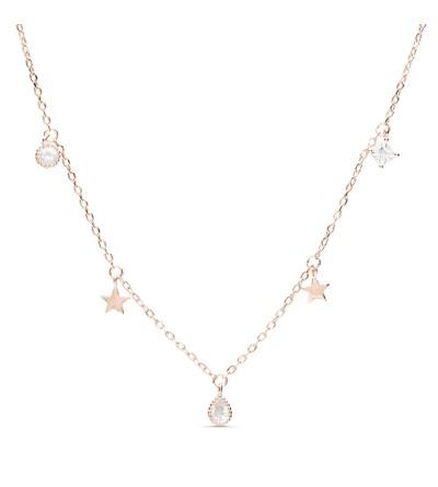 Collar Estrella Rosa