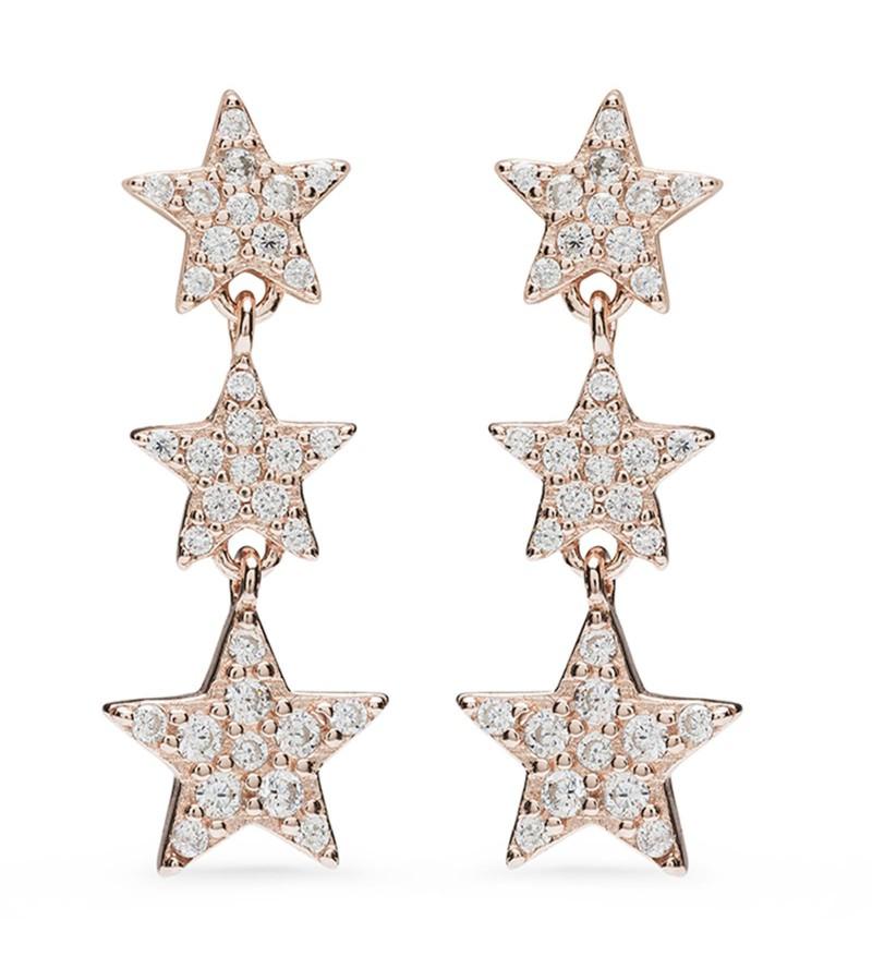 85c910c333cb Pendientes Estrellas Rosa