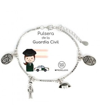 Pulsera Guardia Civil