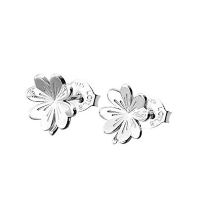 Pendientes Lotus Silver