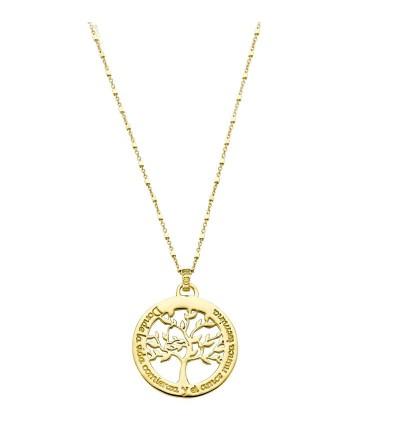 Gargantilla Lotus arbol