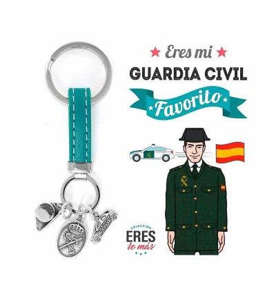 Llavero Eres mi Guardia civil Favorito